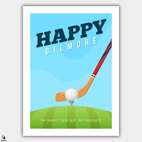 Happy Gilmore Minimalist Poster