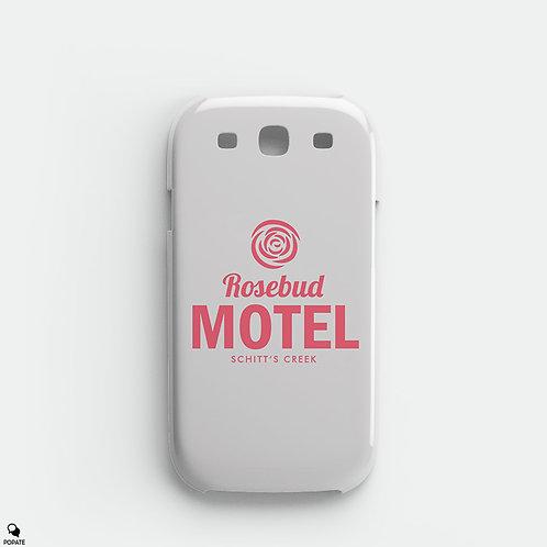 Rosebud Motel Alternative Galaxy Phone Case from Schitt's Creek