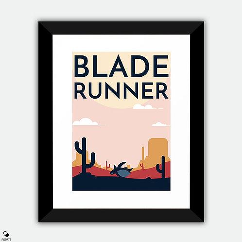 Blade Runner Alternative Framed Print - Tortoise