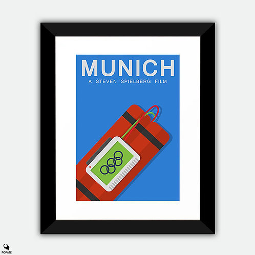 Munich Alternative Framed Print