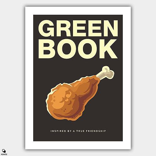 Green Book Alternative Poster - Fried Chicken