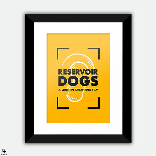 Reservoir Dogs Vintage Framed Print - Mr Blonde