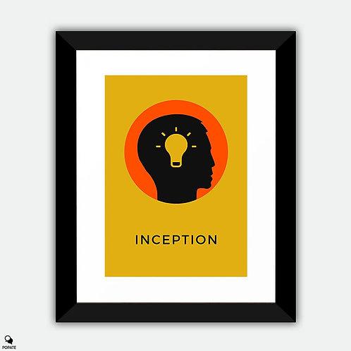 Inception Minimalist Framed Print