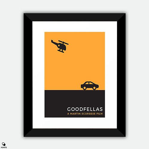 Goodfellas Minimalist Framed Print