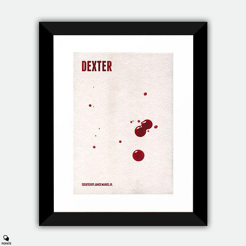 Dexter Minimalist Framed Print