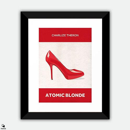 Atomic Blonde Minimalist Framed Print