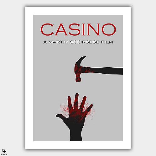 Casino Minimalist Poster