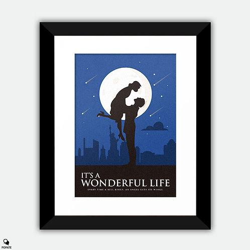 It's A Wonderful Life Minimalist Framed Print