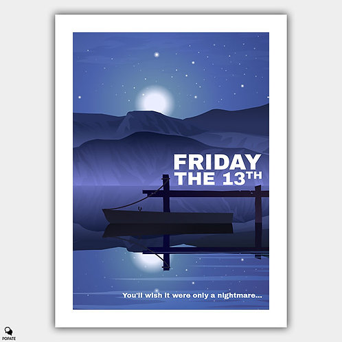 Friday The 13th Alternative Poster