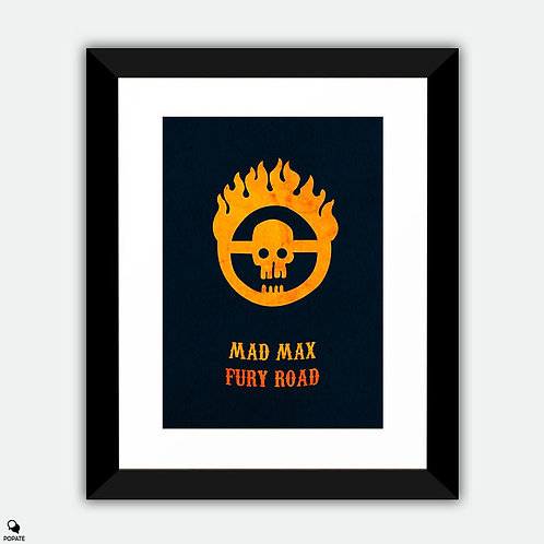 Mad Max Fury Road Minimalist Framed Print