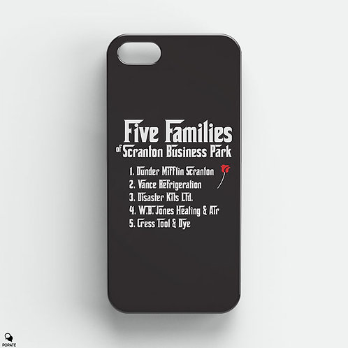 Five Families of Scranton Business Park Alternative iPhone Case from The Office