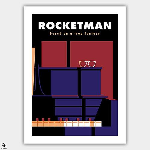 Rocketman Minimalist Poster
