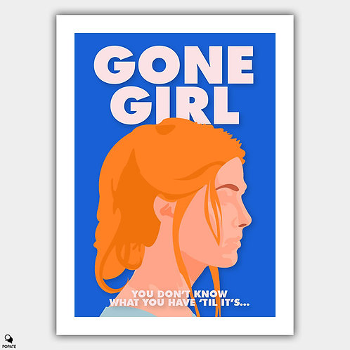 Gone Girl Minimalist Poster - Amy