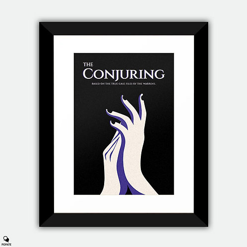 The Conjuring Alternative Framed Print - Hide and Clap