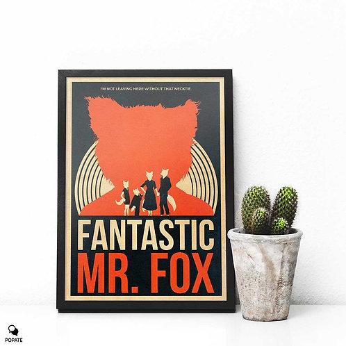 Fantastic Mr. Fox Vintage Alternative Framed Print