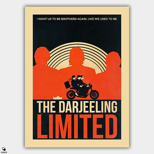 The Darjeeling Limited Vintage Poster