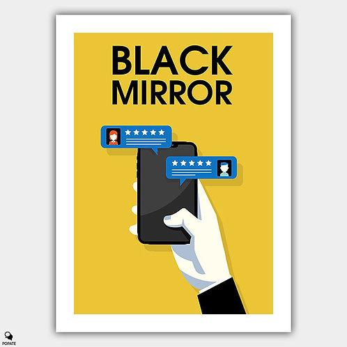 Black Mirror Minimalist Poster - Nosedive