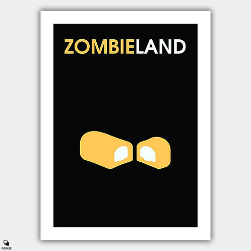 Zombieland Minimalist Poster