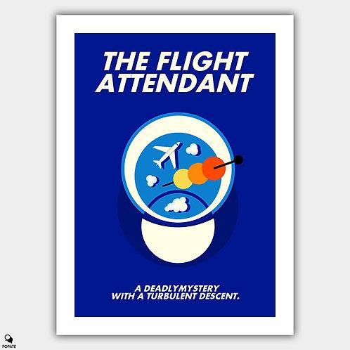 The Flight Attendant Minimalist Poster