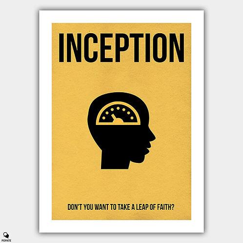 Inception Minimalist Poster - Regrets