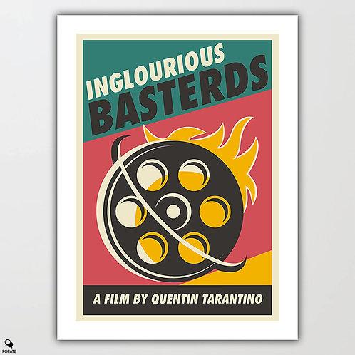 Inglourious Basterds Vintage Poster - Film