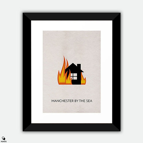 Manchester By The Sea Minimalist Framed Print