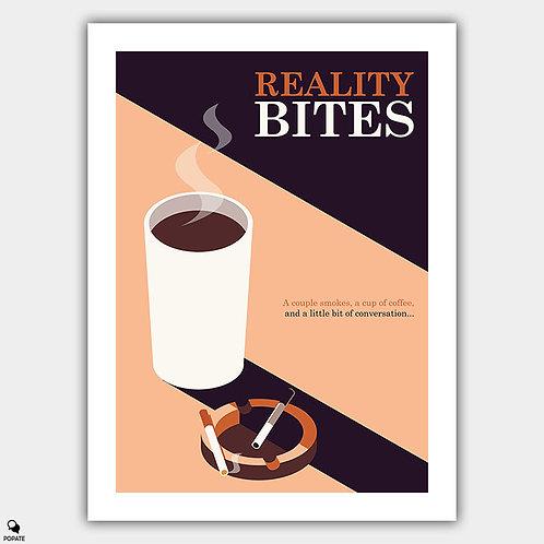 Reality Bites Minimalist Poster