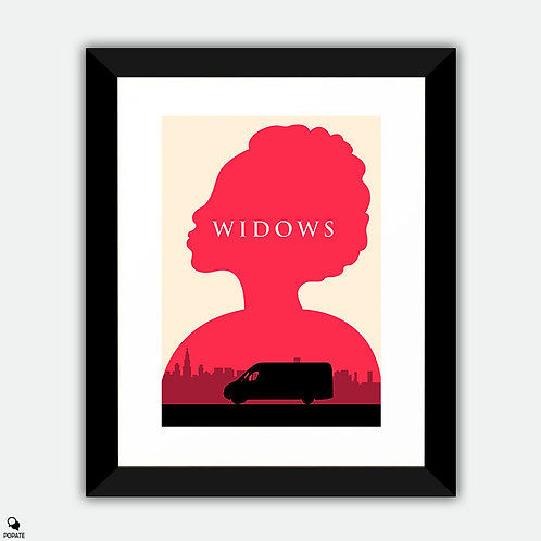 Widows Minimalist Framed Print