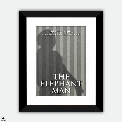 The Elephant Man Minimalist Framed Print