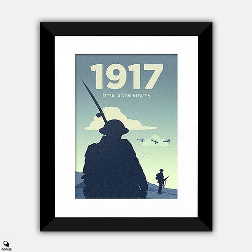 1917 Minimalist Framed Print