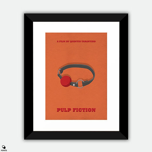 Pulp Fiction Alternative Framed Print - Marsellus Wallace