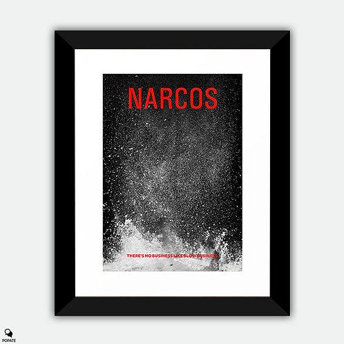Narcos Alternative Framed Print