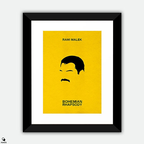 Bohemian Rhapsody Minimalist Framed Print