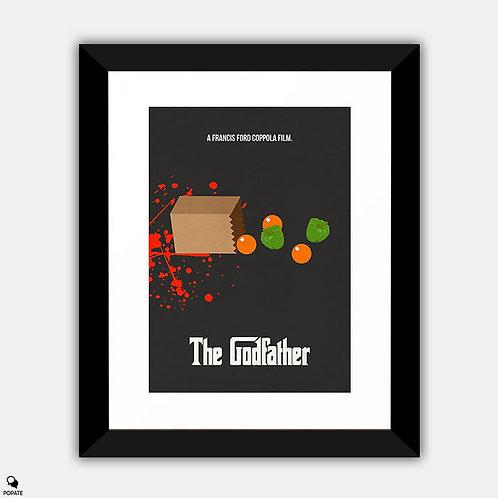 The Godfather Minimalist Framed Print