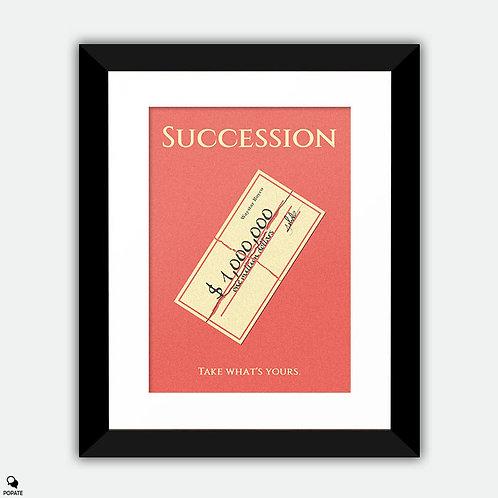 Succession Minimalist Framed Print