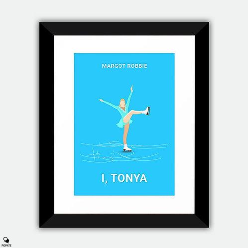 I, Tonya Minimalist Framed Print