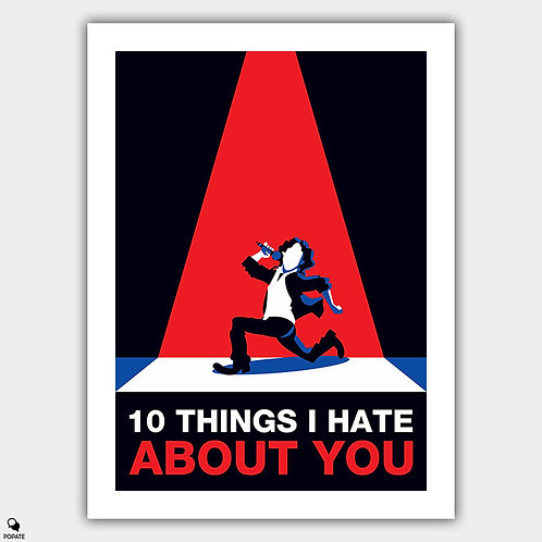 10 Things I Hate About You Minimalist Poster