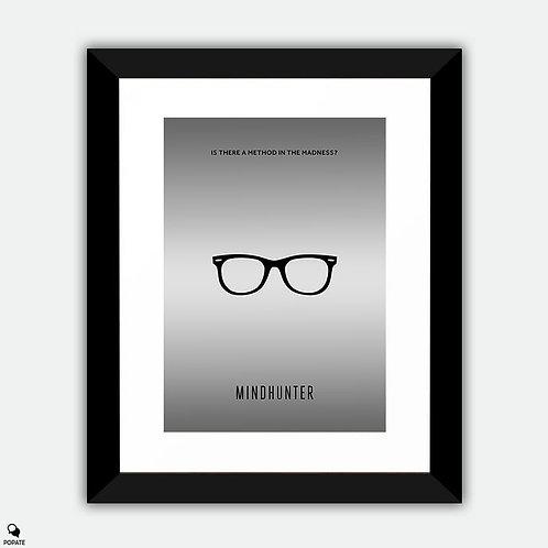 Mindhunter Minimalist Framed Print - Kemper