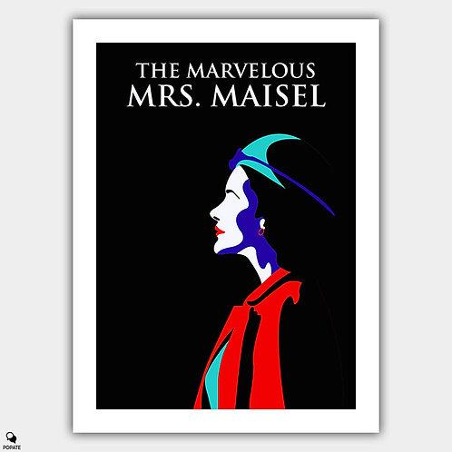 The Marvelous Mrs. Maisel Minimalist Poster - Midge