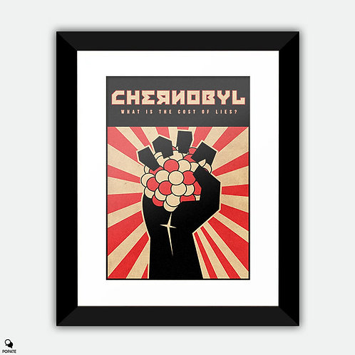 Chernobyl Vintage Alternative Framed Print