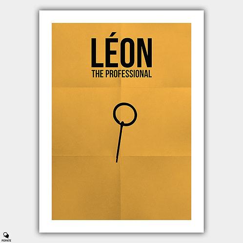 Leon The Professional Minimalist Poster