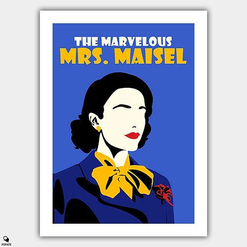 The Marvelous Mrs. Maisel Minimalist Poster