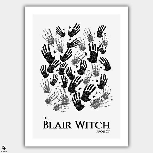 The Blair Witch Project Minimalist Poster