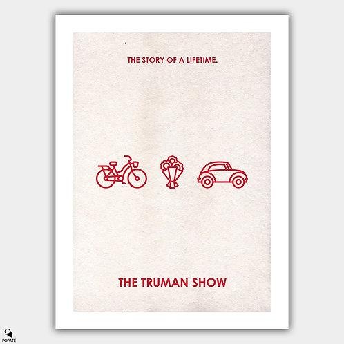 The Truman Show Minimalist Poster - Loop