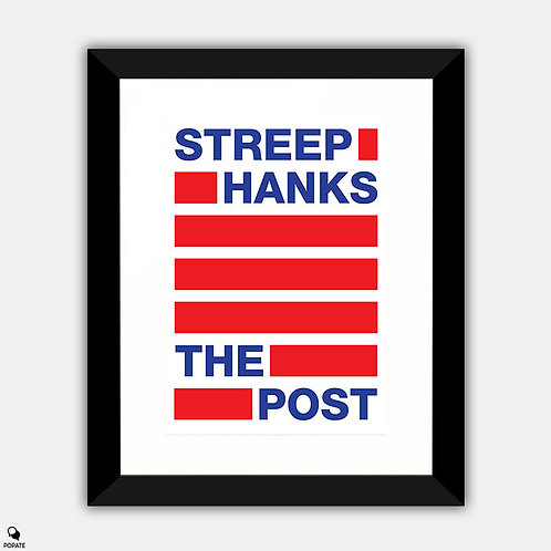 The Post Minimalist Framed Print - Censored