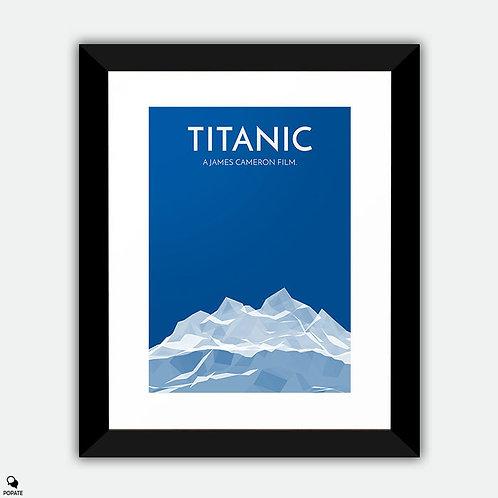 Titanic Alternative Framed Print