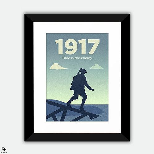 1917 Minimalist Framed Print #2
