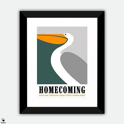 Homecoming Minimalist Framed Print