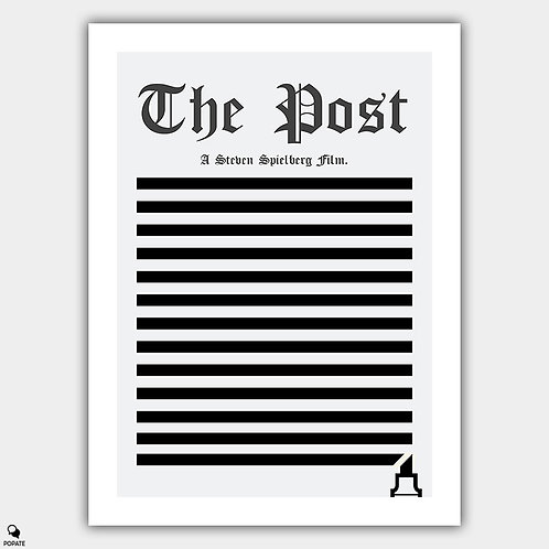 The Post Minimalist Poster