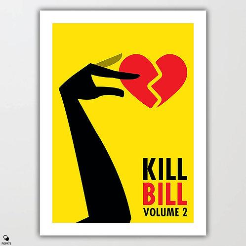 Kill Bill Vol. 2 Minimalist Poster - Touch Of Death